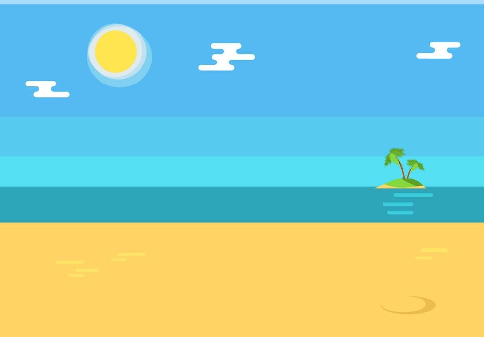 Ảnh background biển 3D