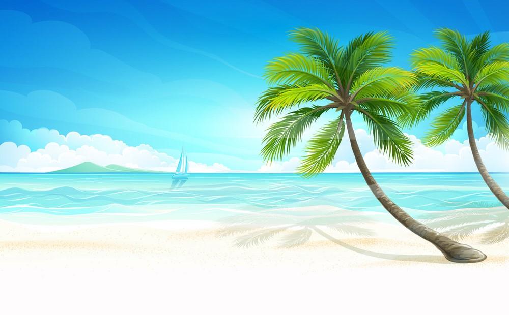 Background bãi biển đẹp