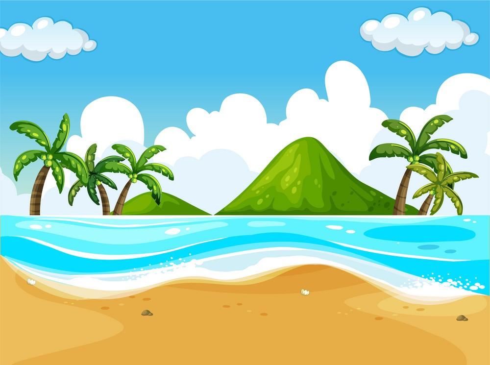 Background biển đẹp và độc đáo