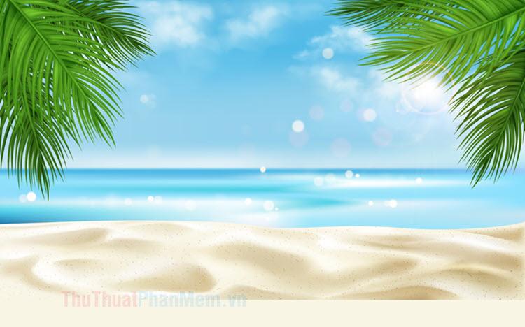 Background biển đẹp