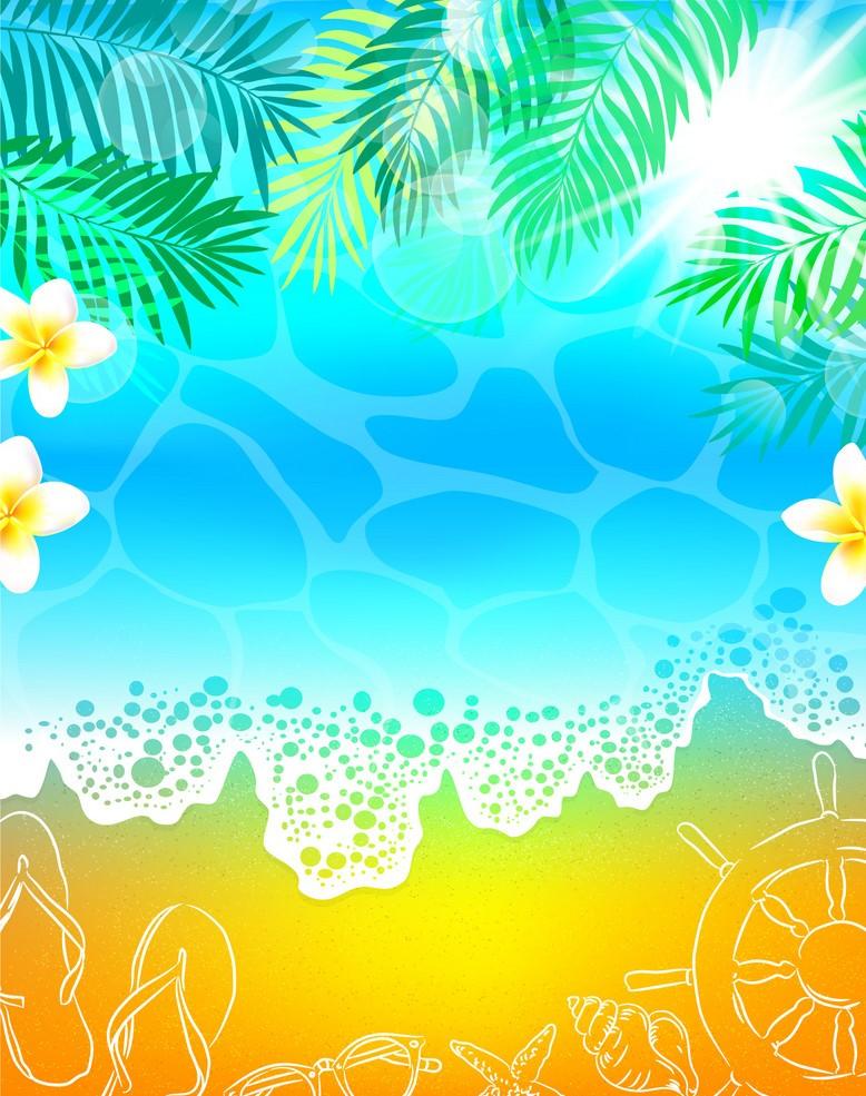 Background biển độc đáo
