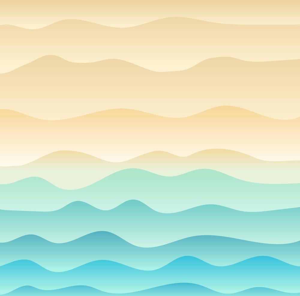 Background biển gợn sóng
