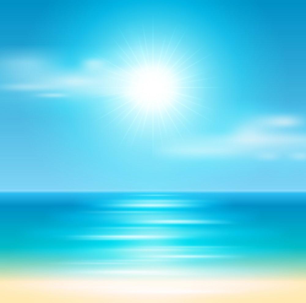 Background biển nắng đẹp nhất