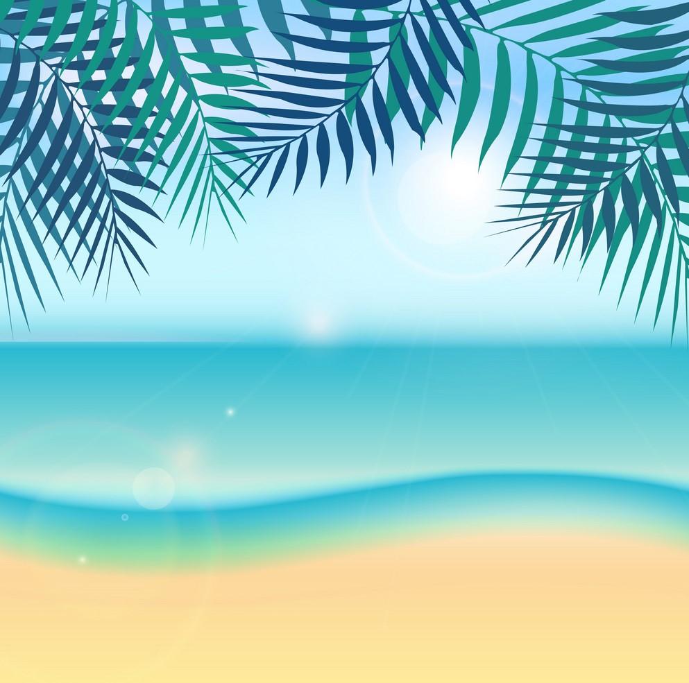 Background biển nắng đẹp