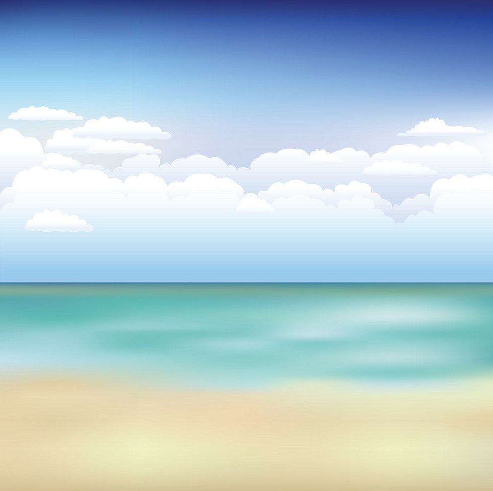 Background biển và trời