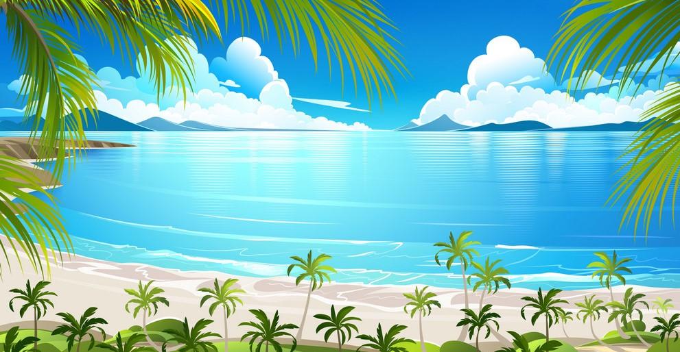 Background cảnh biển