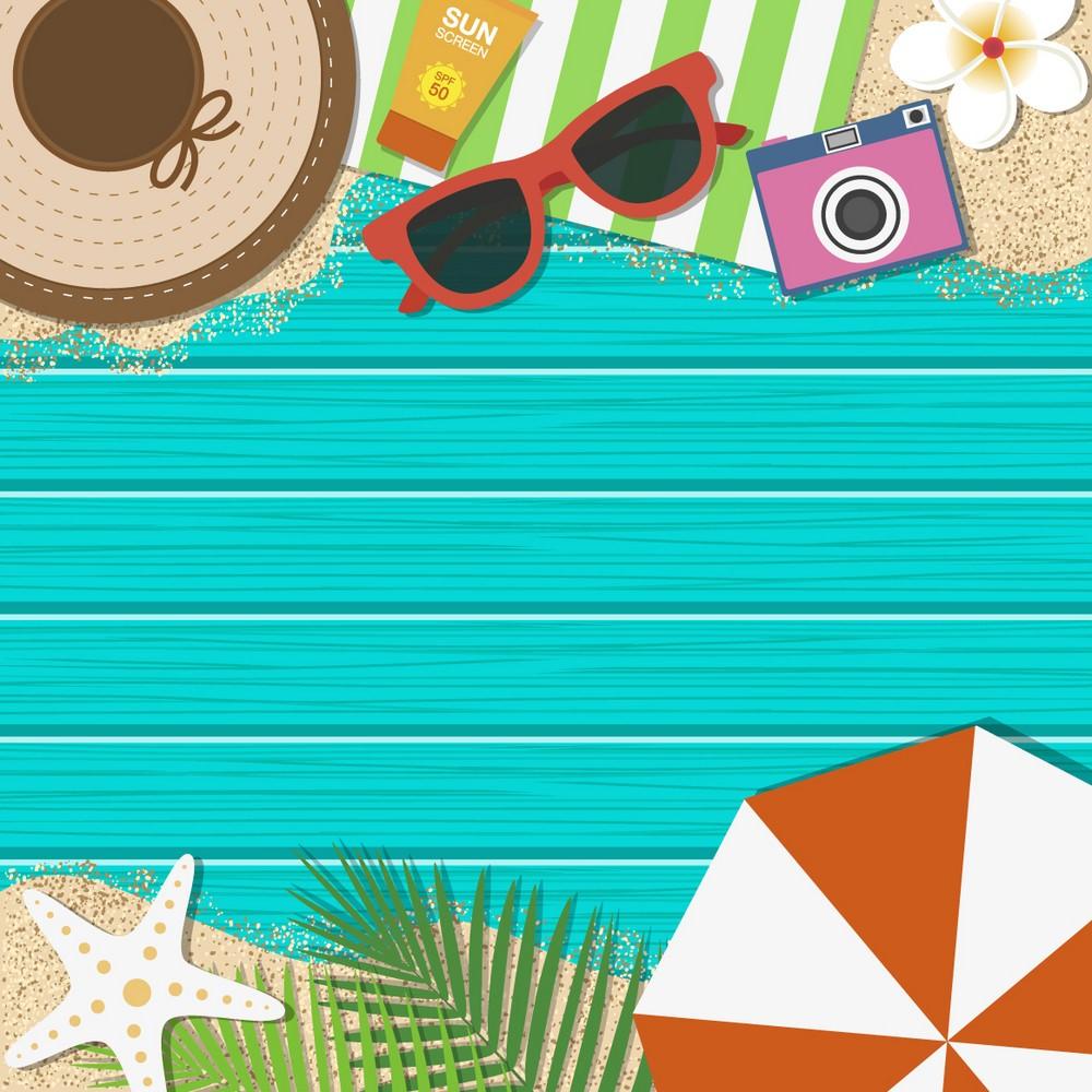 Background du lịch biển