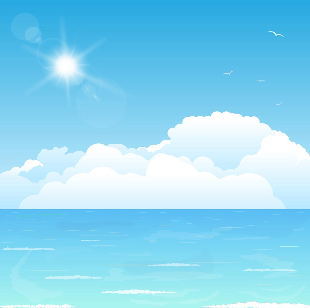 Background nắng biển