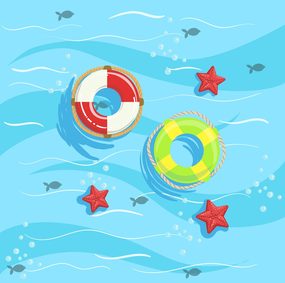 Background tắm biển