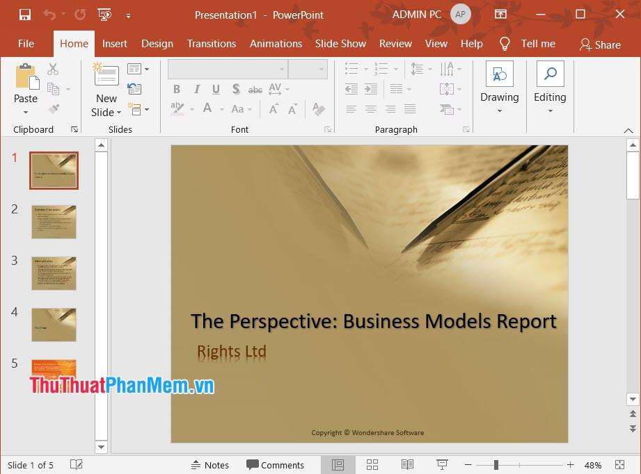 Hình ảnh mẫu slide nháp