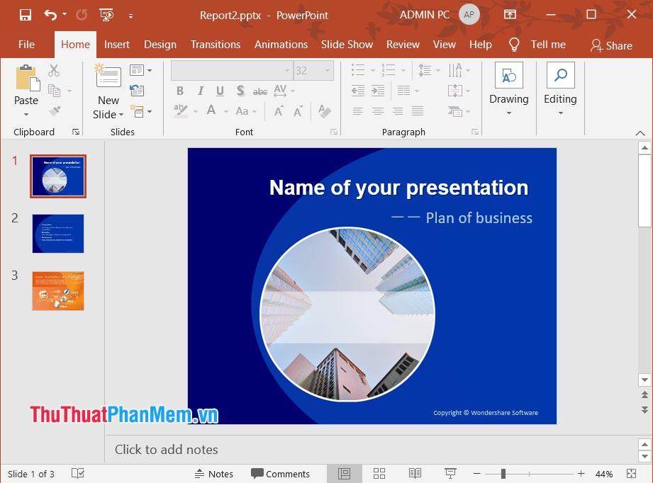 Hình ảnh slide kinh doanh