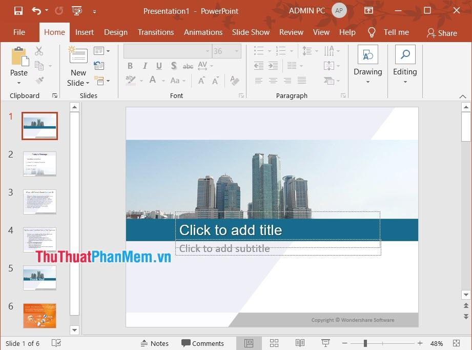 Hình ảnh slide thuyết trình cho doanh nghiệp