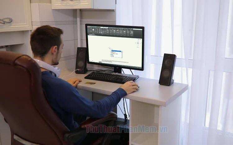 Cách hiển thị lệnh Cad trên màn hình