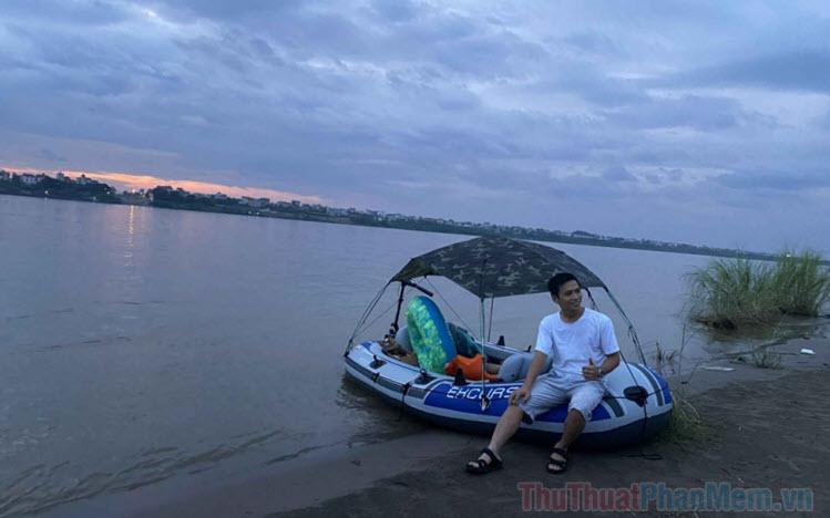Ảnh đẹp sông Hồng