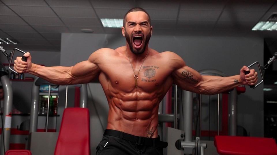 Ảnh nam giới tập gym