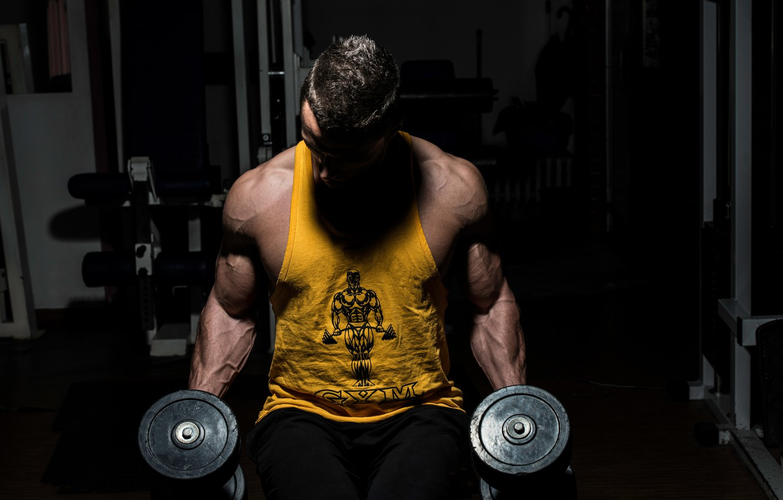 Ảnh nam tập gym đẹp chất