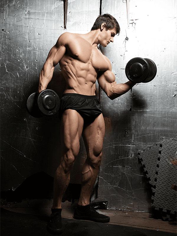 Ảnh nam tập gym đẹp
