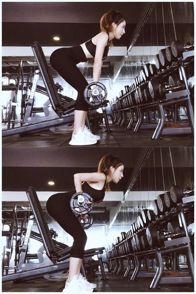 Ảnh nữ tập gym đẹp