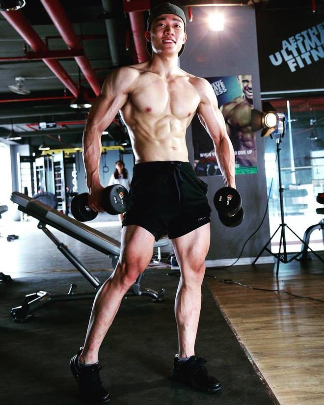 Ảnh tập gym ấn tượng