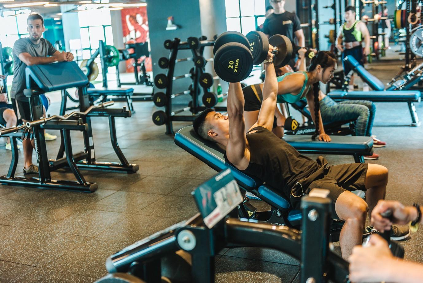 Ảnh tập gym đẹp ngầu