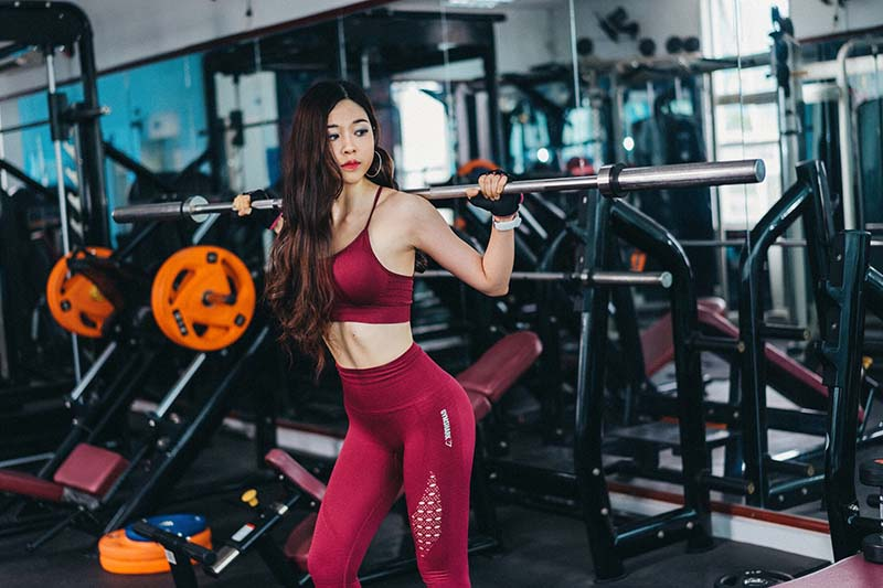 Ảnh tập gym nữ