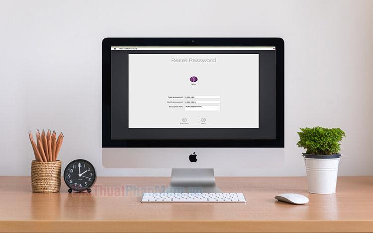 Hướng dẫn reset mật khẩu đăng nhập trên macOS