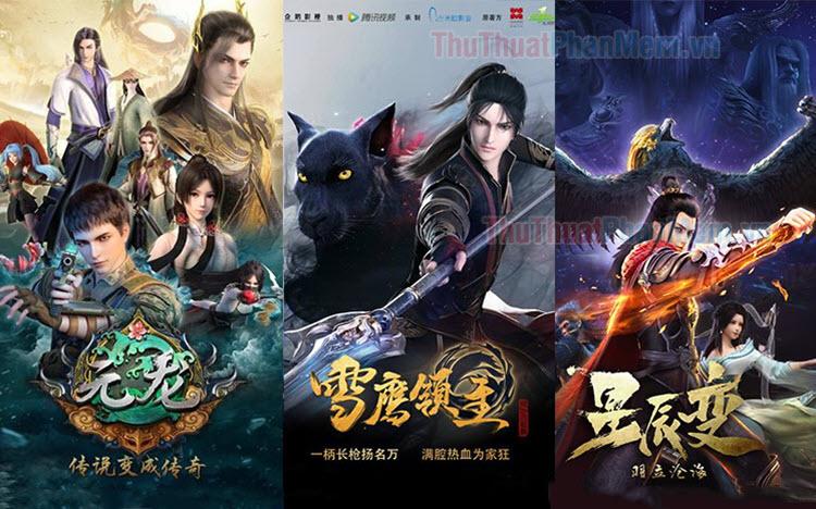 Top những bộ phim hoạt hình 3D Trung Quốc hay nhất