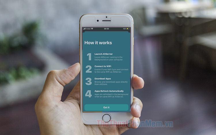 AltStore là gì Cách cài đặt AltStore lên iPhone, iPad