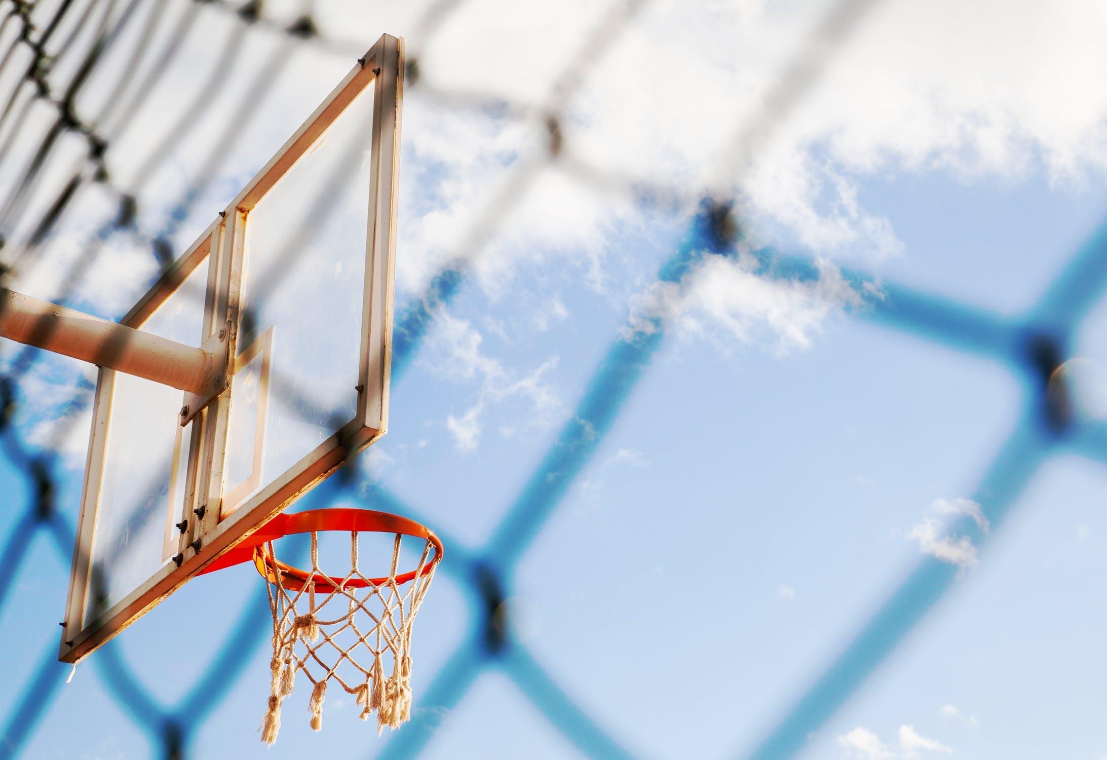 Ảnh cột bóng rổ