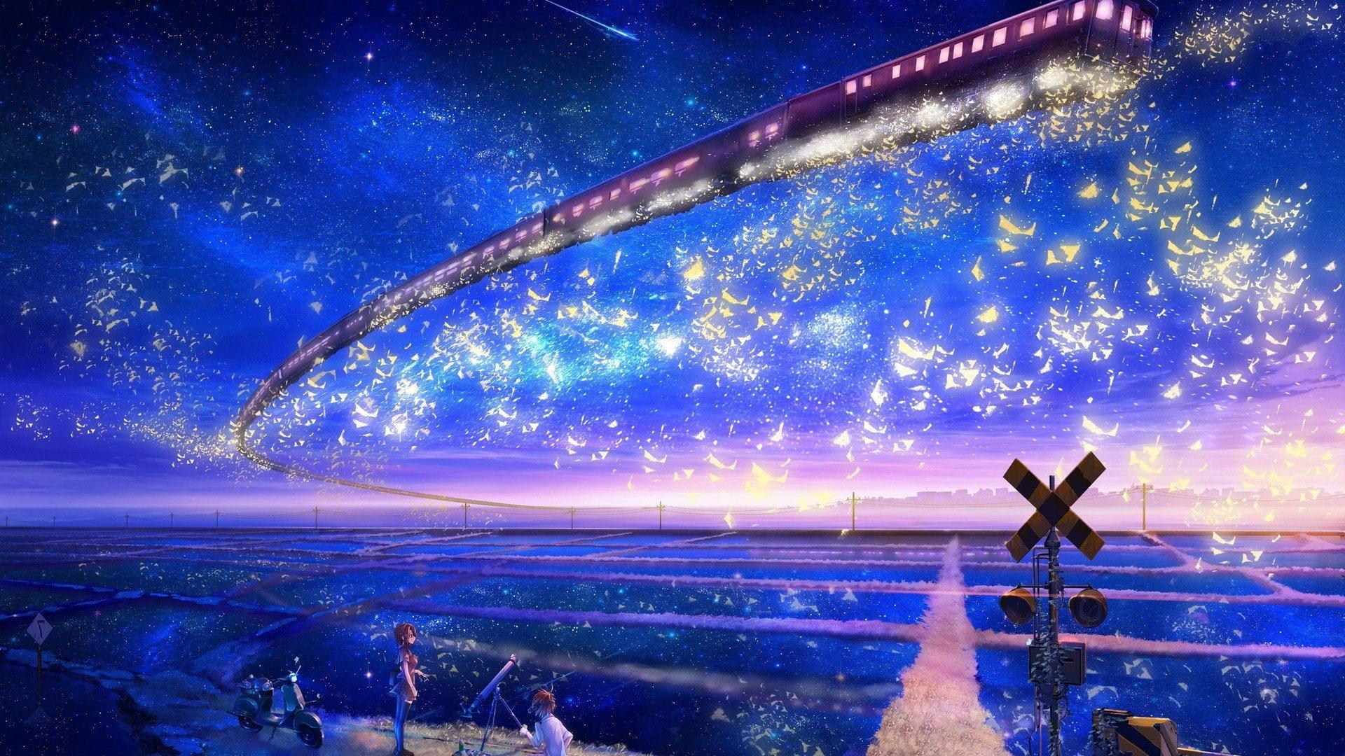 Ảnh Galaxy Anime đẹp nhất