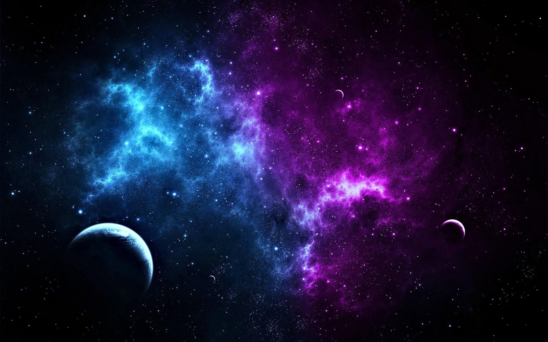 Ảnh Galaxy buổi đêm đẹp