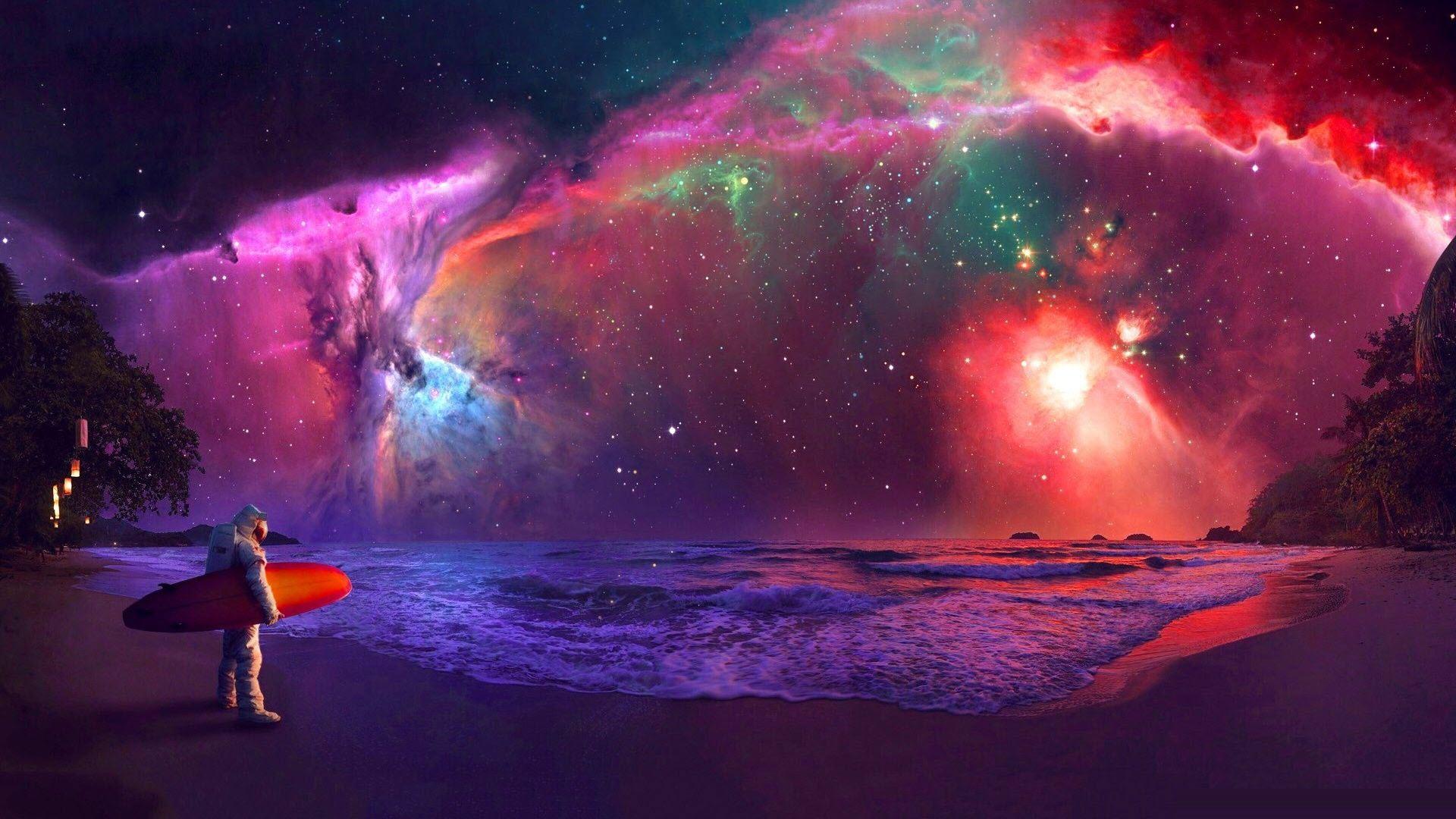 Ảnh Galaxy độc đáo, sáng tạo