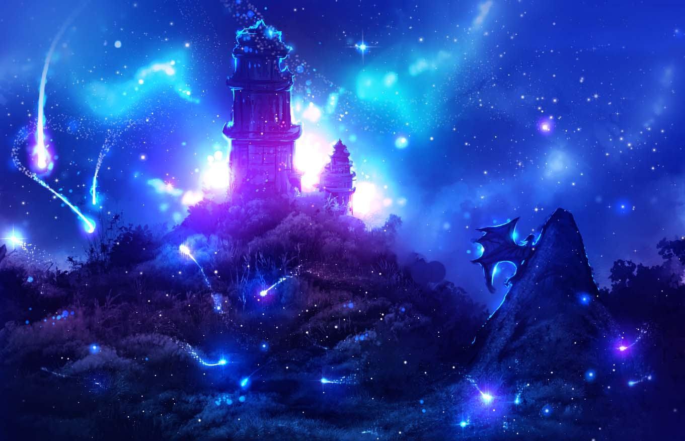Ảnh Galaxy huyền ảo
