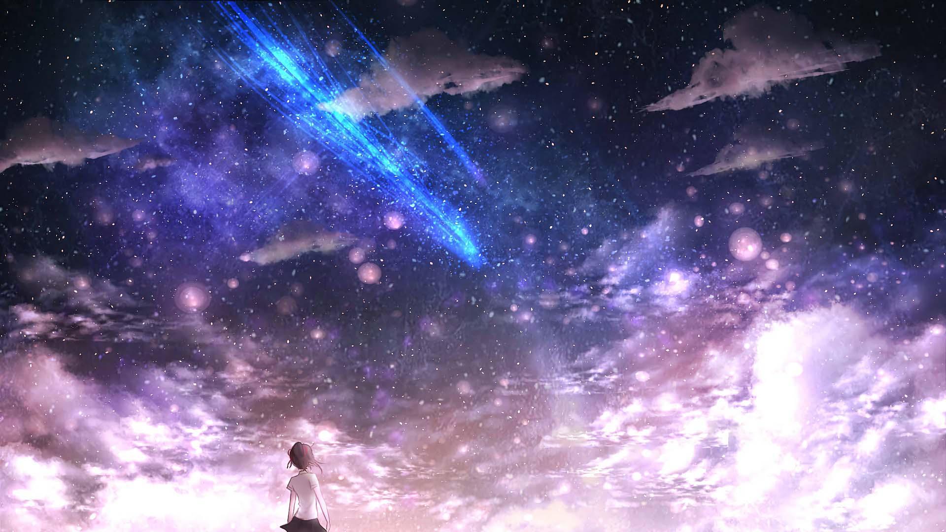 Ảnh galaxy phong cảnh đẹp