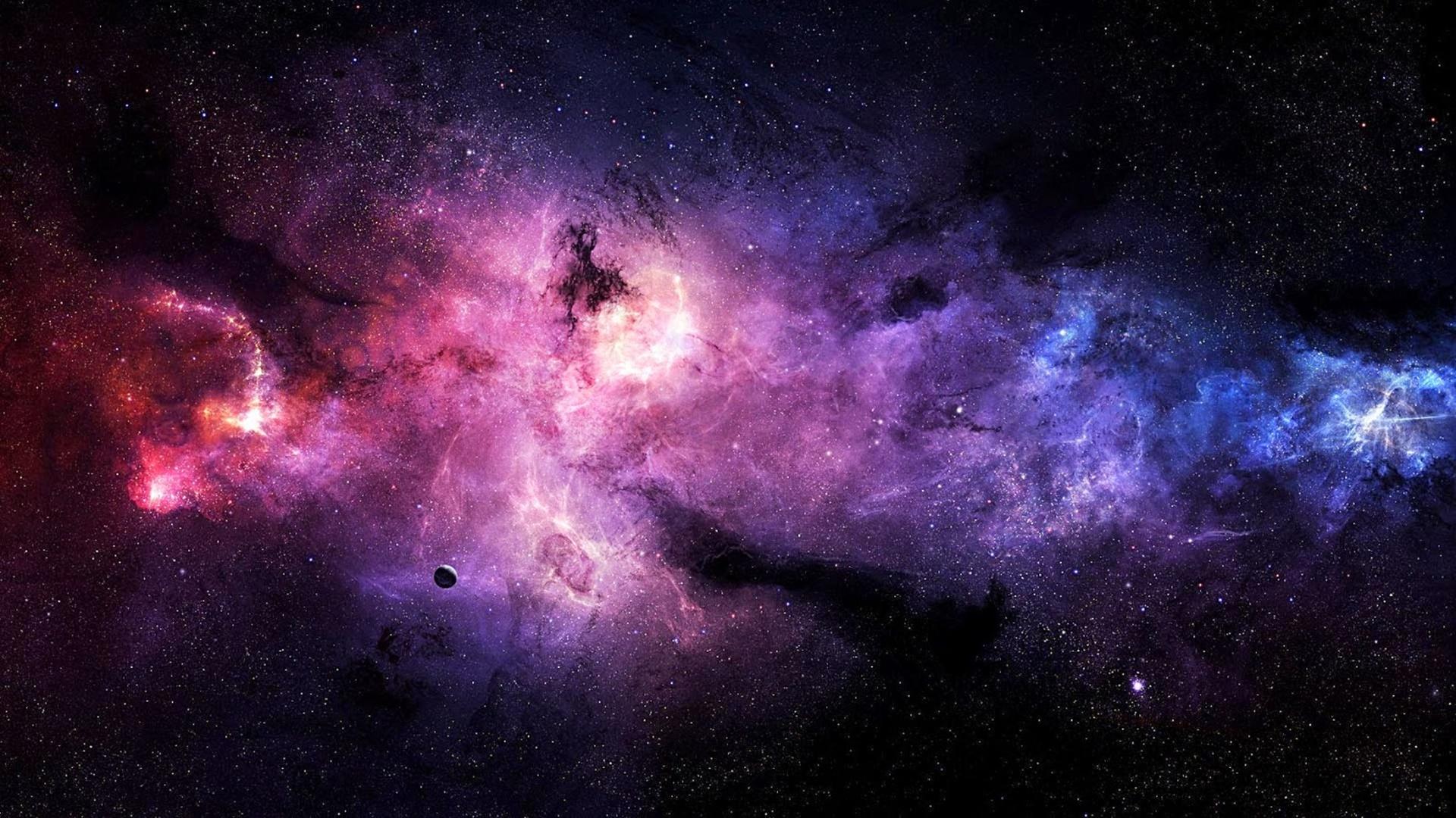 Ảnh galaxy vũ trụ làm hình nền máy tính tuyệt đẹp