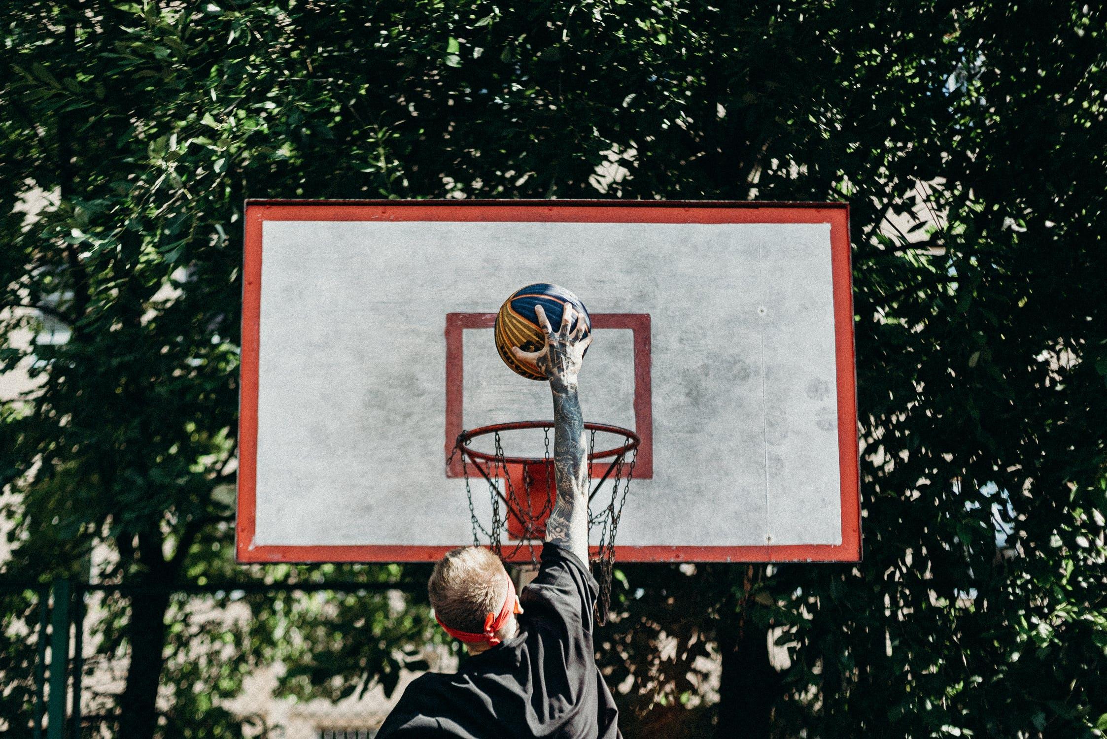 Ảnh giày chơi bóng rổ