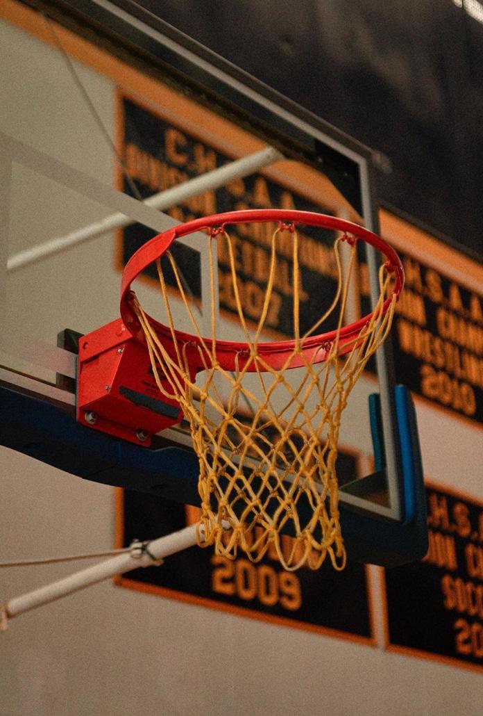 Ảnh sân bóng rổ cực đẹp