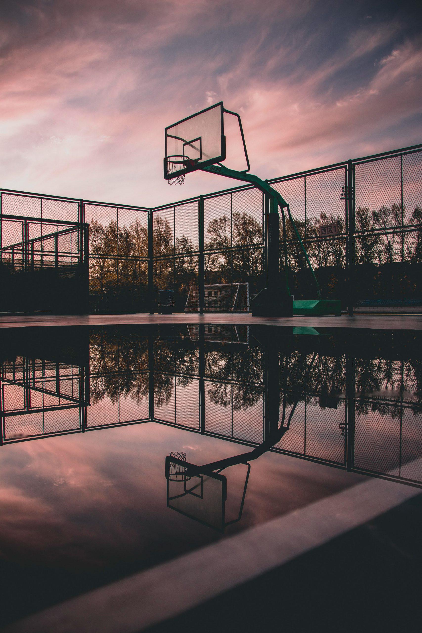 Ảnh sân bóng rổ đẹp và độc