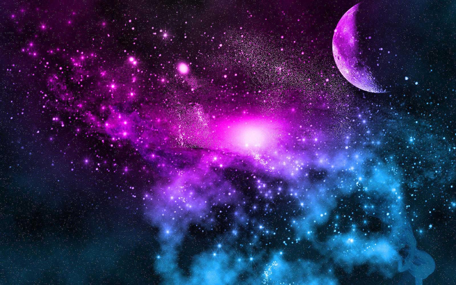 Beautiful moon galaxy images