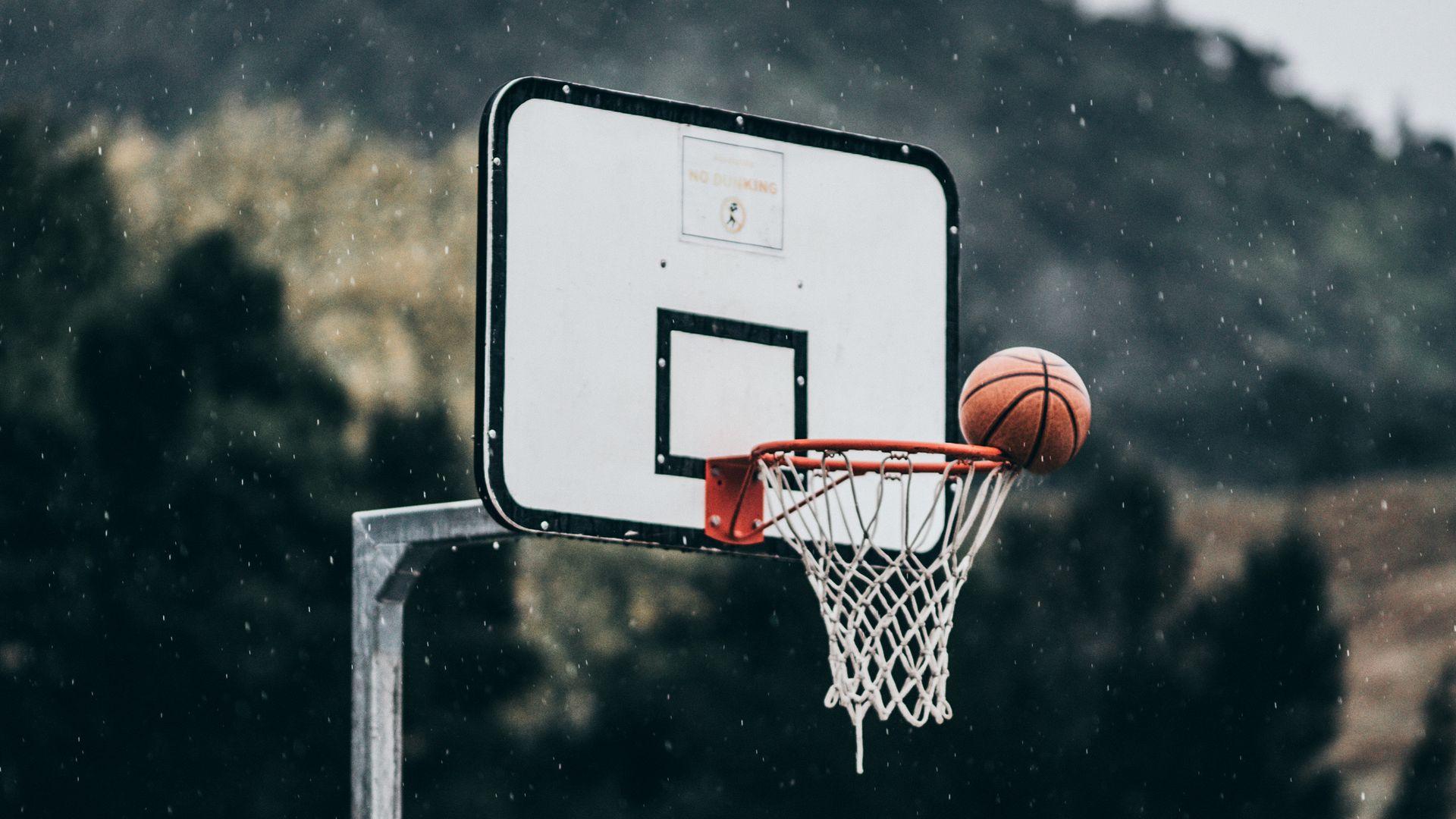Hình ảnh đẹp về bóng rổ