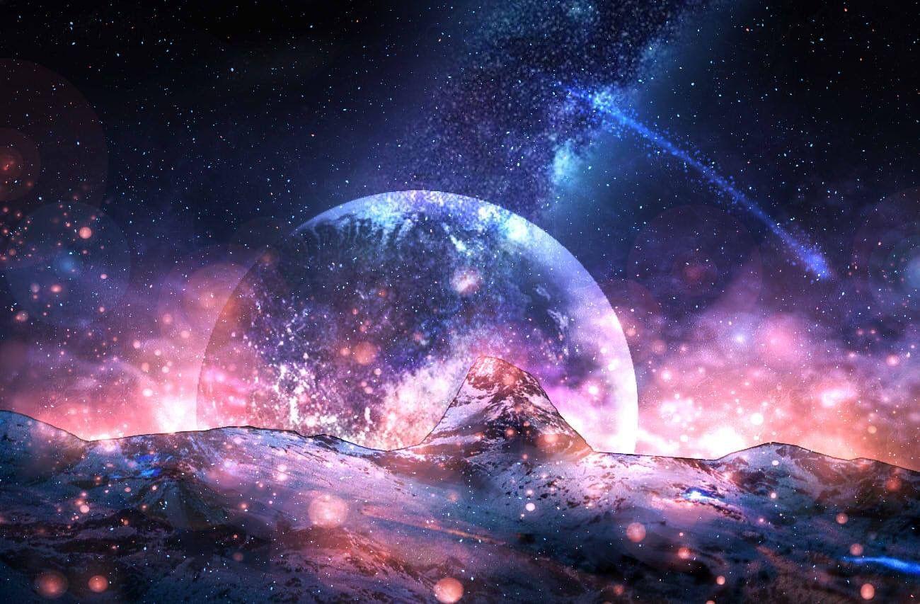 Hình ảnh Galaxy phong cảnh đẹp nhất