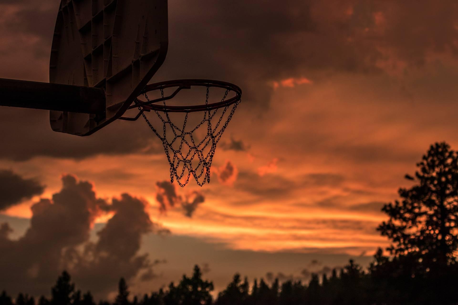 Hình ảnh sân bóng rổ ngoài trời
