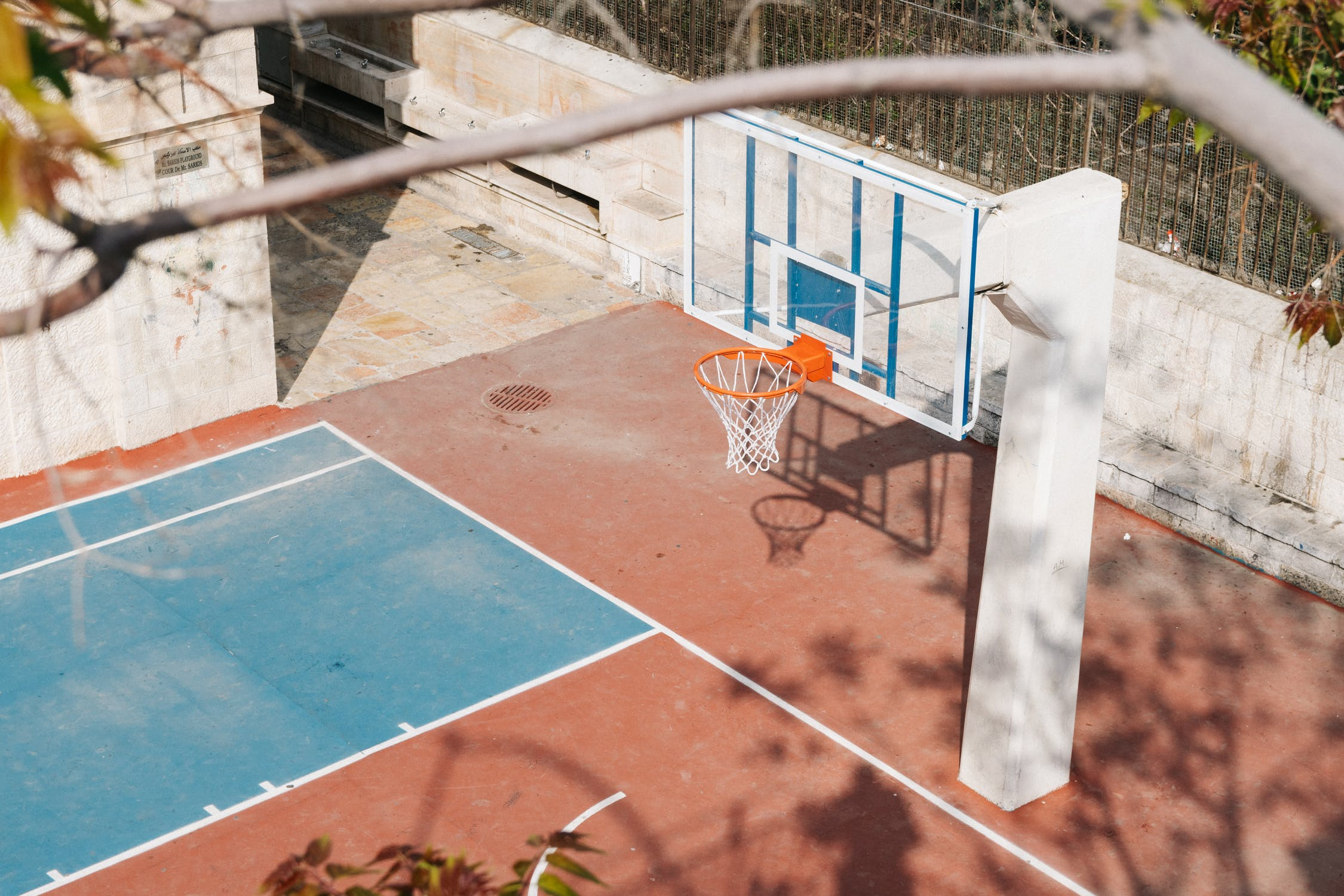 Hình ảnh sân bóng rổ