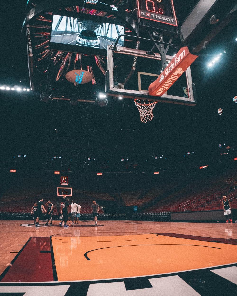 Hình nền bóng rổ cho điện thoại