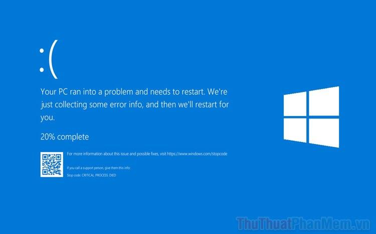 Cách sửa lỗi 0xc1420121 trên máy tính Windows 10