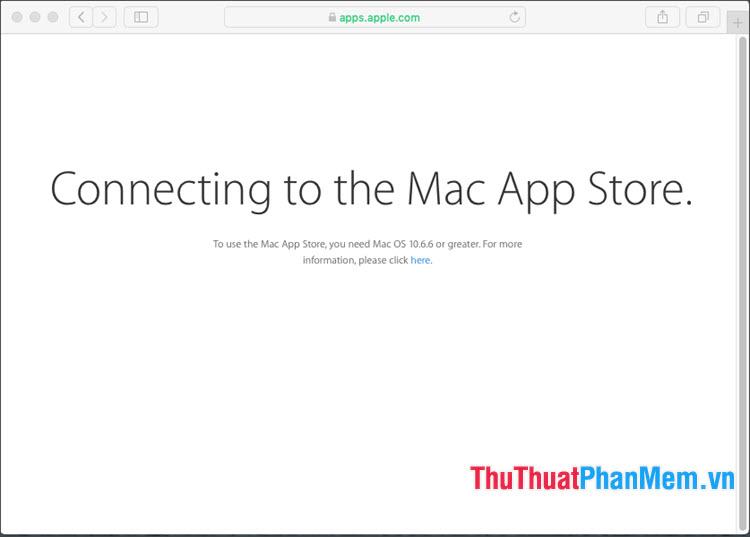 Truy cập đường link tương ứng với phiên bản macOS cần cài đặt