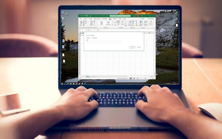 Cách lấy dữ liệu trên trang web bằng Excel