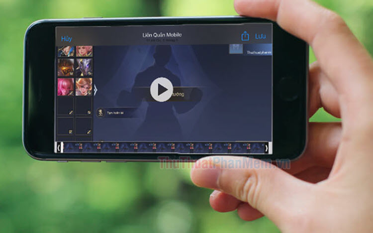 Cách quay màn hình trong Liên Quân Mobile