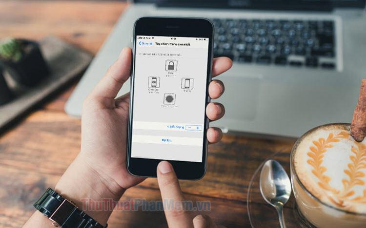 Cách bật nút home ảo trên iPhone