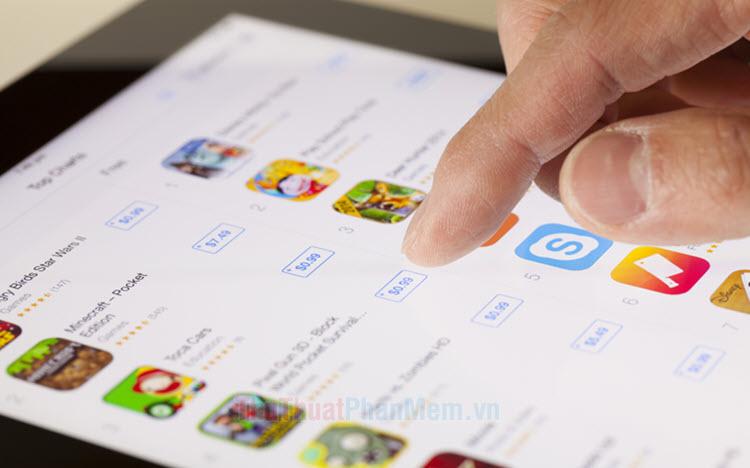 Cách mua ứng dụng bằng ví Momo trên App Store